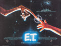 "Movie Posters:Science Fiction, E.T. The Extra-Terrestrial (Universal, 1982). Folded, Very Fine.British Quad (30"" X 40""). John Alvin Artwork. Scienc..."