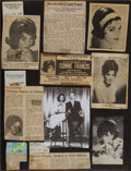 Music Memorabilia:Documents, A Connie Francis Set of Scrapbooks, 1964-1968.... (Total: 2 Items)