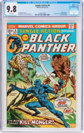 Bronze Age (1970-1979):Superhero, Jungle Action #6 (Marvel, 1973) CGC NM/MT 9.8 White pages....