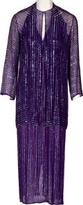 "Music Memorabilia:Costumes, A Connie Francis Evening Gown Worn on ""American Bandstand's 30thAnniversary Special.""..."