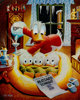Carl Barks Blizzard Tonight Signed Limited Edition Miniature Lithograph #431/595 (Another Rainbow, 1993)