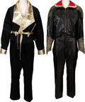Music Memorabilia:Costumes, A Connie Francis Pair of Sparkly Pantsuits, 1980s.... (Total: 2 Items)