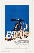 "Movie Posters:Drama, Exodus (United Artists, 1960). One Sheet (27"" X 41""). Drama.. ..."