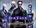 "Movie Posters:Science Fiction, The Matrix (Warner Brothers, 1999). Vinyl Subway Banner (46"" X60""). Science Fiction.. ..."