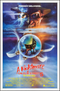 """A Nightmare on Elm Street V: The Dream Child & Other Lot (New Line, 1989). One Sheets (2) (27"""" X 41"""")..."""
