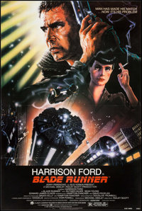 "Blade Runner (Warner Brothers, 1982). One Sheet (27.25"" X 41""). Science Fiction"