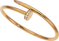 Estate Jewelry:Bracelets, Diamond, Gold Bracelet, Cartier . ...