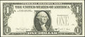 Error Notes:Third Printing on Reverse, Third Printing on Back Error Fr. 1916-L $1 1988A Federal Reserve Note. Very Fine-Extremely Fine.. ...