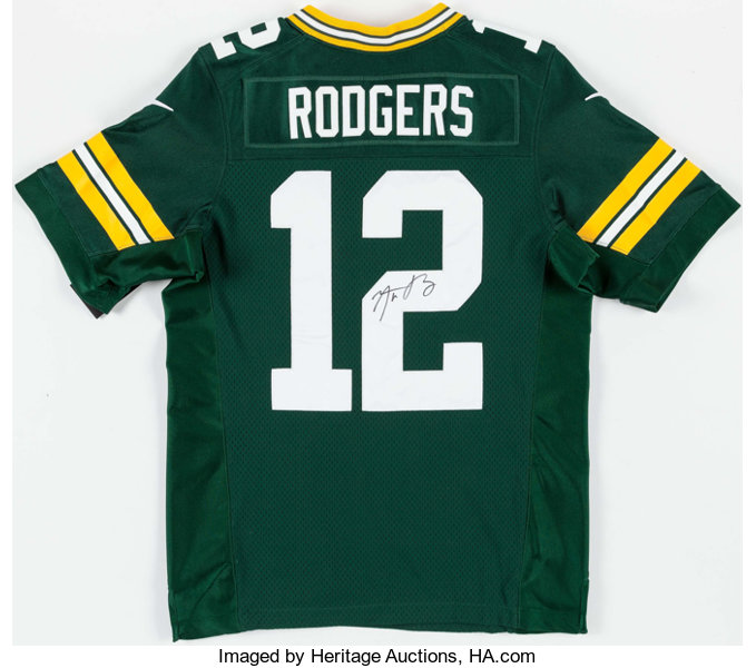 Aaron Rodgers Signed Green Bay Packers Jersey.... Football  e36773005