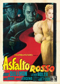 "Movie Posters:Crime, The Miami Story (Columbia, 1954). Italian 4 - Fogli (55"" X 77"")Anselmo Ballester Artwork.. ..."
