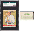Baseball Cards:Singles (1930-1939), One-of-a-Kind 1933 Goudey Eddie Farrell #148 (Pre-Production #107) SGC Authentic. ...