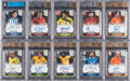 Olympic Cards:General, 2014 Panini Prizm World Cup Soccer Signatures Partial Set (21/50) -Including Messi, Ronaldo, Neymar & Pele....