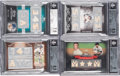 Baseball Cards:Lots, 2007-2010 Topps Sterling Mickey Mantle BGS Graded Relic Quartet (4). ...