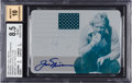 Golf Cards:General, 2011 Leaf Golf Metal Jack Nicklaus National Pride Autographs Printing Plates Cyan 1 of 1 BGS NM-MT 8.5 - 10 Autograph. ...
