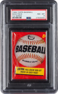 Baseball Cards:Lots, 1966 Topps Baseball 1st Series Unopened Wax Pack PSA NM-MT 8. ...