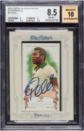 Olympic Cards:General, 2013 Topps Allen & Ginter Pele Autograph #P BGS NM-MT+ 8.5 - 10Autograph. ...