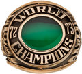 Baseball Collectibles:Others, 1972 Charles O. Finley Oakland A's World Series Championship Salesman's Sample Ring....