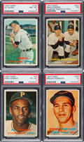 Baseball Cards:Sets, 1957 Topps Baseball Near Set (401/407). ...