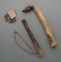 Two Plains Hide Scrapers and Blades