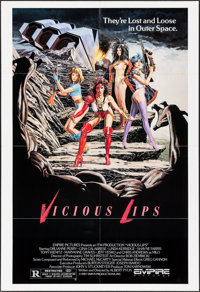 """Vicious Lips (Empire, 1987). Identical One Sheets (6) (28"""" X 41""""). Science Fiction. ... (Total: 6 Items)"""