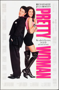 "Pretty Woman & Other Lot (Touchstone, 1990). One Sheets (2) (27"" X 41"", 27.75"" X 39.75"") DS..."