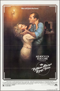 "The Postman Always Rings Twice & Other Lot (Paramount, 1981). One Sheets (2) (27"" X 41""). Film Noir..."