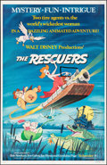 "Movie Posters:Animation, The Rescuers & Others Lot (Buena Vista, 1977). One Sheets (2) (27"" X 41""). Animation.. ... (Total: 2 Items)"