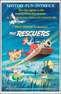 "The Rescuers & Others Lot (Buena Vista, 1977). One Sheets (2) (27"" X 41""). Animation. ... (Total: 2 It..."