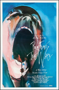 "Pink Floyd: The Wall (MGM, 1982). One Sheet (27"" X 41"") Artwork by Gerald Scarfe. Rock and Roll"