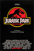 "Movie Posters:Science Fiction, Jurassic Park (Universal, 1993). One Sheet (27"" X 41""). ScienceFiction.. ..."