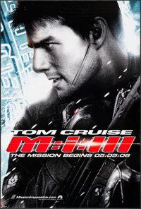 "Mission Impossible III & Other Lot (Paramount, 2006). One Sheets (2) (27"" X 40"") SS Advance. Action. ... (..."