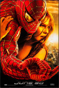 "Movie Posters:Action, Spider-Man 2 (Columbia, 2004). One Sheets (2) (27"" X 40""). SS &DS. 2 Styles Advance. Action.. ... (Total: 2 Items)"