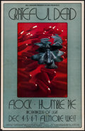"Movie Posters:Rock and Roll, The Grateful Dead at the Fillmore West (Bill Graham, 1969). FirstPrinting Concert Window Card (14"" X 22""). Rock and Rol..."