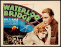 "Movie Posters:Drama, Waterloo Bridge (Universal, 1931). Title Lobby Card (11"" X 14"")....."