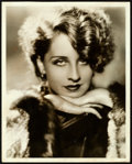 "Movie Posters:Miscellaneous, Norma Shearer By George Hurrell (MGM,1929). Portrait Photo (11"" X14"").. ..."