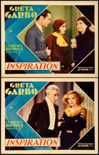 "Inspiration (MGM, 1931). Lobby Cards (2) (11"" X 14""). ... (Total: 2 Items)"