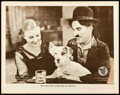"Movie Posters:Comedy, A Dog's Life (First National, 1918). Lobby Card (11"" X 14"").. ..."