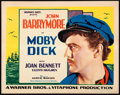 "Movie Posters:Adventure, Moby Dick (Warner Brothers, 1930). Title Lobby Card (11"" X 14"")....."