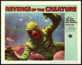 "Movie Posters:Horror, Revenge of the Creature (Universal International, 1955). Lobby Card#8 (11"" X 14"").. ..."
