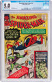 The Amazing Spider-Man #14 (Marvel, 1964) CGC VG/FN 5.0 Off-white to white pages