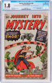 Journey Into Mystery #83 (Marvel, 1962) CGC GD- 1.8 Off-white to white pages