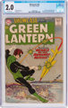 Showcase #22 Green Lantern (DC, 1959) CGC GD 2.0 Off-white pages