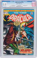 Bronze Age (1970-1979):Horror, Tomb of Dracula #10 (Marvel, 1973) CGC VG/FN 5.0 Off-white to whitepages....
