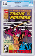 Modern Age (1980-Present):Superhero, Transformers #80 (Marvel, 1991) CGC NM+ 9.6 Off-white to whitepages....