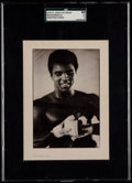 Boxing Cards:General, 1975 St. John's Ice Cream Muhammad Ali (Wrapping Hands) SGC 60 EX5....