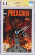 Modern Age (1980-Present):Horror, Preacher #1 Signature Series (DC, 1995) CGC NM- 9.2 White pages....