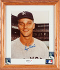 Baseball Collectibles:Balls, Circa 1980 Roger Maris Signed Photograph from The Whitey FordCollection, PSA/DNA Mint 9....