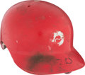 Baseball Collectibles:Others, 1975 Mike Schmidt Game Worn Philadelphia Phillies Batting Helmet....