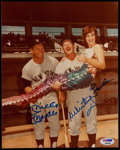 Autographs:Photos, Mickey Mantle and Whitey Ford Signed Photograph....