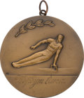 Miscellaneous Collectibles:General, 1973 Olga Korbut University Games, Moscow Bronze Medal. ...